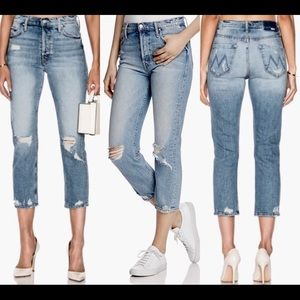 $238 Mother the Tomcat the Confession Jeans 28 27